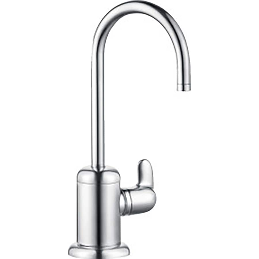 hans grohe kitchen faucets hansgrohe hg kitchen chrome 1 handle deck mount high arc kitchen faucet at lowes com 6833