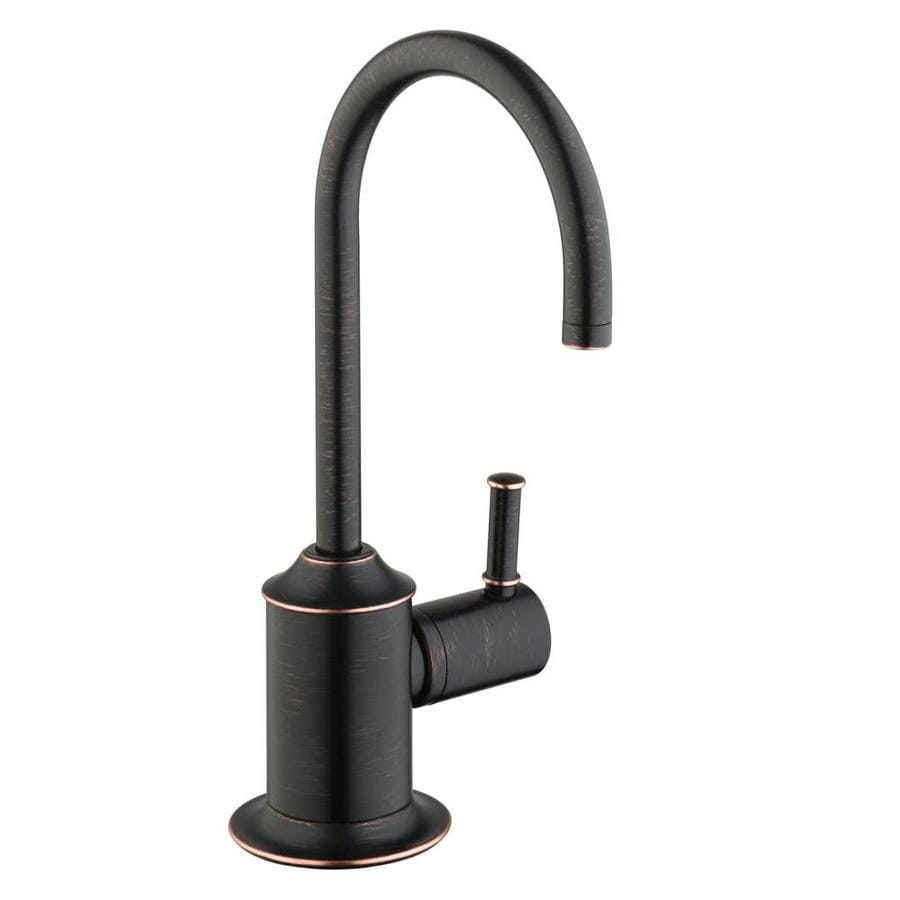 Shop Hansgrohe HG Kitchen Rubbed Bronze 1-Handle Bar and Prep Faucet ...