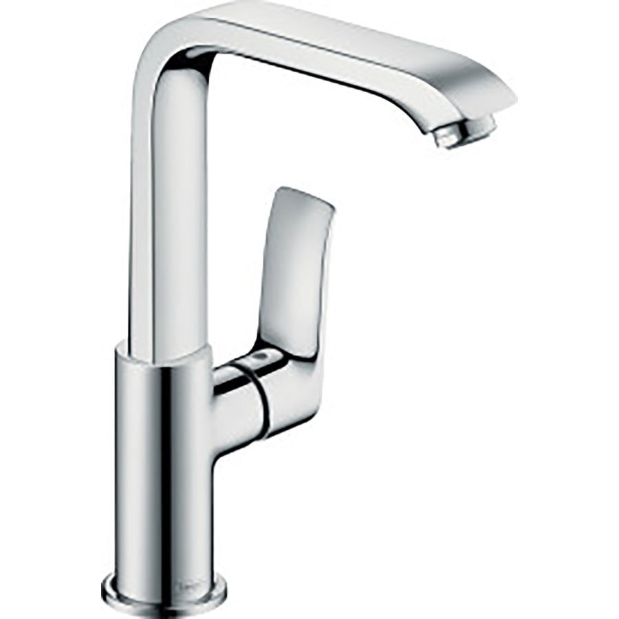 Hansgrohe Metris Chrome 1-Handle Single Hole Bathroom Faucet (Drain Included)
