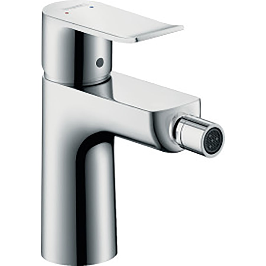 shop hansgrohe metris chrome horizontal spray bidet faucet at. Black Bedroom Furniture Sets. Home Design Ideas