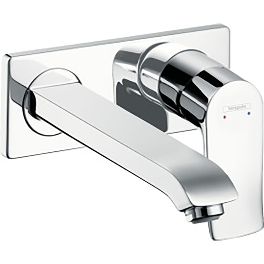Hansgrohe Metris Chrome 1-Handle 4-in Centerset Bathroom Faucet