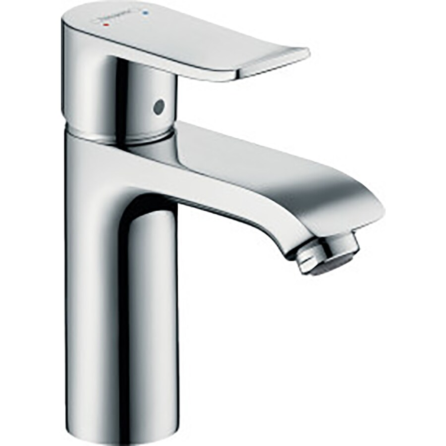 Shop Hansgrohe Metris Chrome 1-Handle Single Hole Bathroom Faucet ...