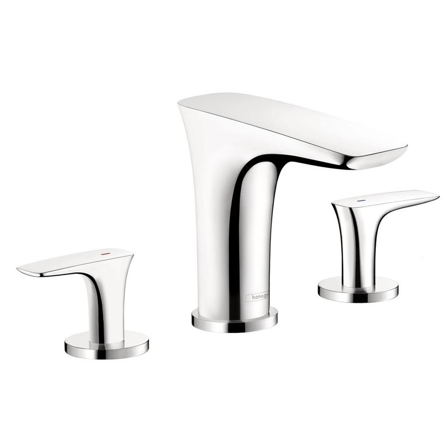 Hansgrohe Puravida Chrome 2-Handle Fixed Deck Mount Tub Faucet