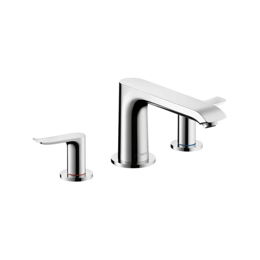 Hansgrohe Metris Chrome 2-Handle Fixed Deck Mount Bathtub Faucet