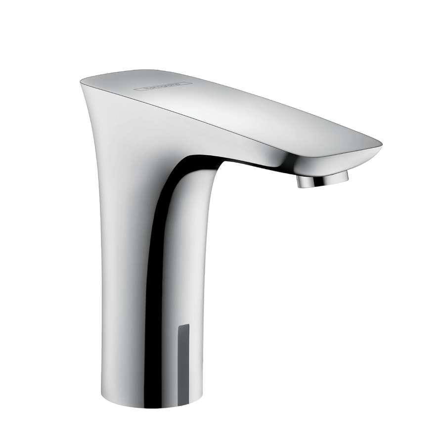 shop hansgrohe puravida chrome touchless single hole bathroom faucet drain included at. Black Bedroom Furniture Sets. Home Design Ideas