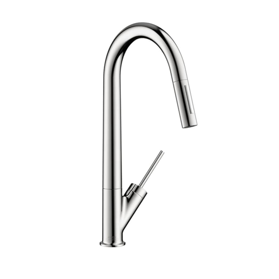 Hansgrohe Starck Chrome 1-Handle High-Arc Kitchen Faucet