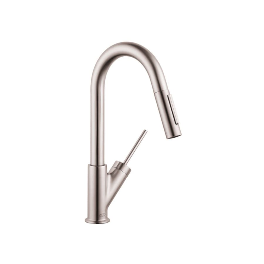 Hansgrohe Starck Steel 1-Handle Bar and Prep Faucet