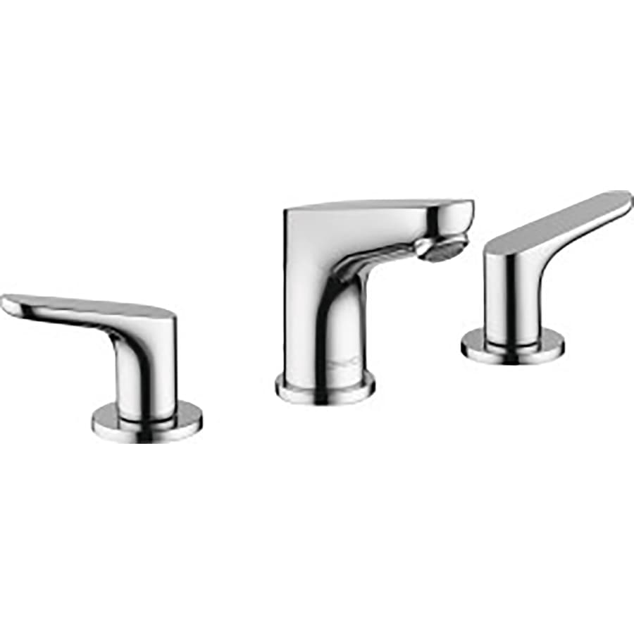shop hansgrohe focus chrome 2 handle widespread bathroom. Black Bedroom Furniture Sets. Home Design Ideas