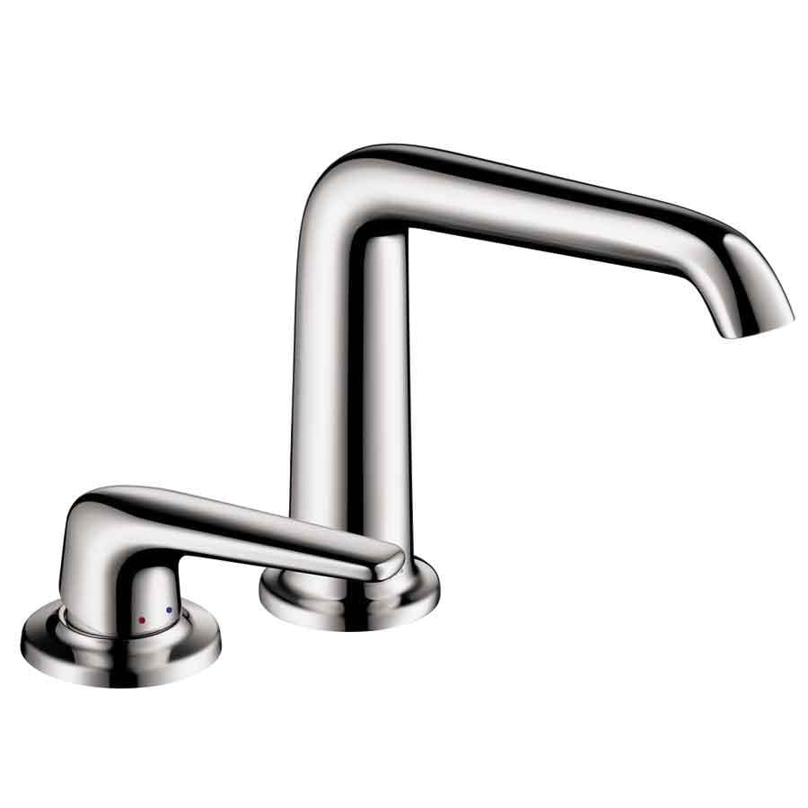 Hansgrohe Axor Bouroullec Chrome 1-Handle 4-in Centerset Bathroom Faucet