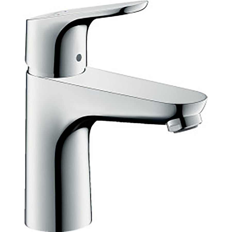 Hansgrohe Focus Chrome 1-Handle Single Hole Bathroom Faucet (Drain Included)