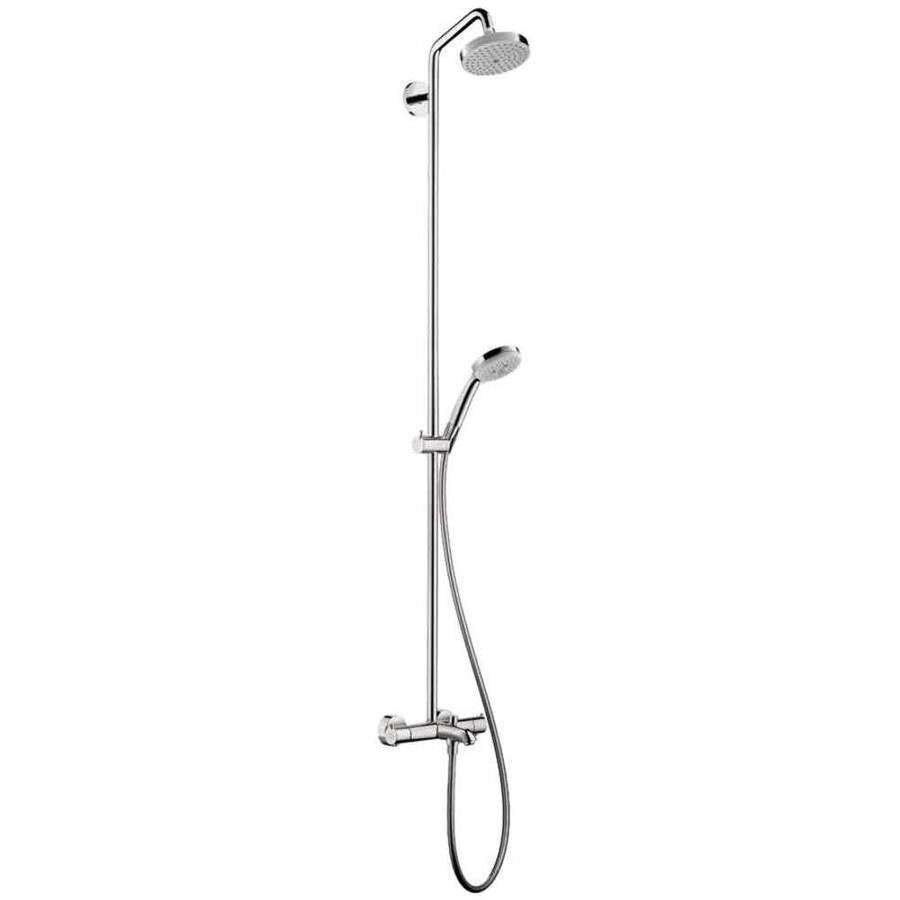 Hansgrohe 2-GPM/7.5-LPM Chrome Croma Rain Shower Massage