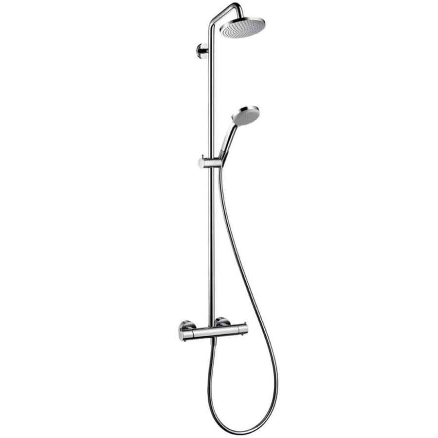 Attrayant Hansgrohe 2 GPM/7.5 LPM Chrome Croma Rain Shower Massage