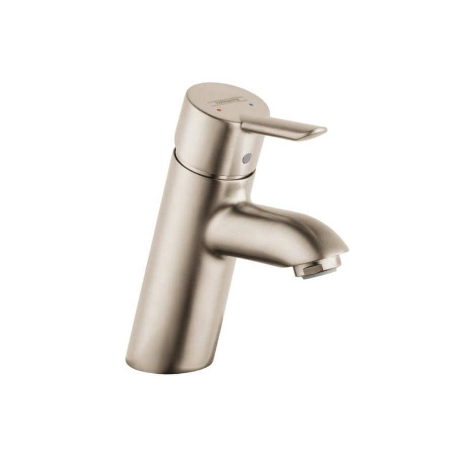Shop hansgrohe focus brushed nickel 1 handle single hole - Hansgrohe shower handle ...