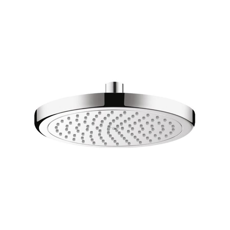 Hansgrohe Croma 8.625-in 2.5-GPM (9.5-LPM) Chrome 1-Spray Rain Showerhead