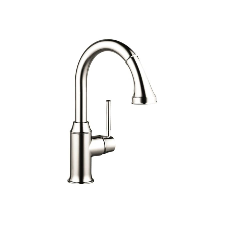 Hansgrohe Talis Polished Nickel 1-Handle Bar and Prep Faucet