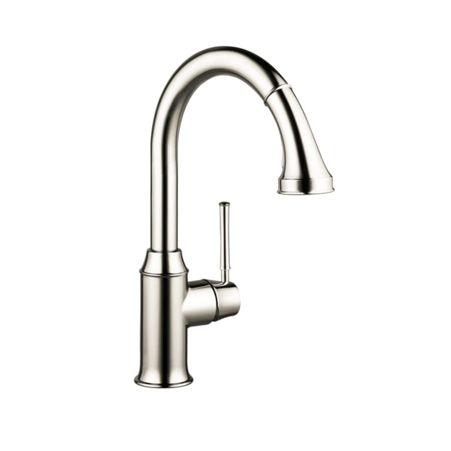 Hansgrohe Talis Polished Nickel 1-Handle High-Arc Kitchen Faucet