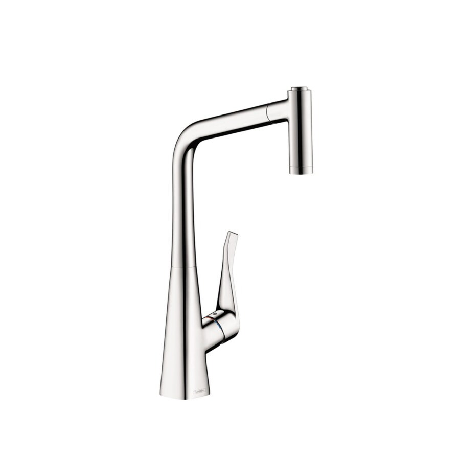 Hansgrohe Metris Chrome 1-Handle Pull-Out Kitchen Faucet