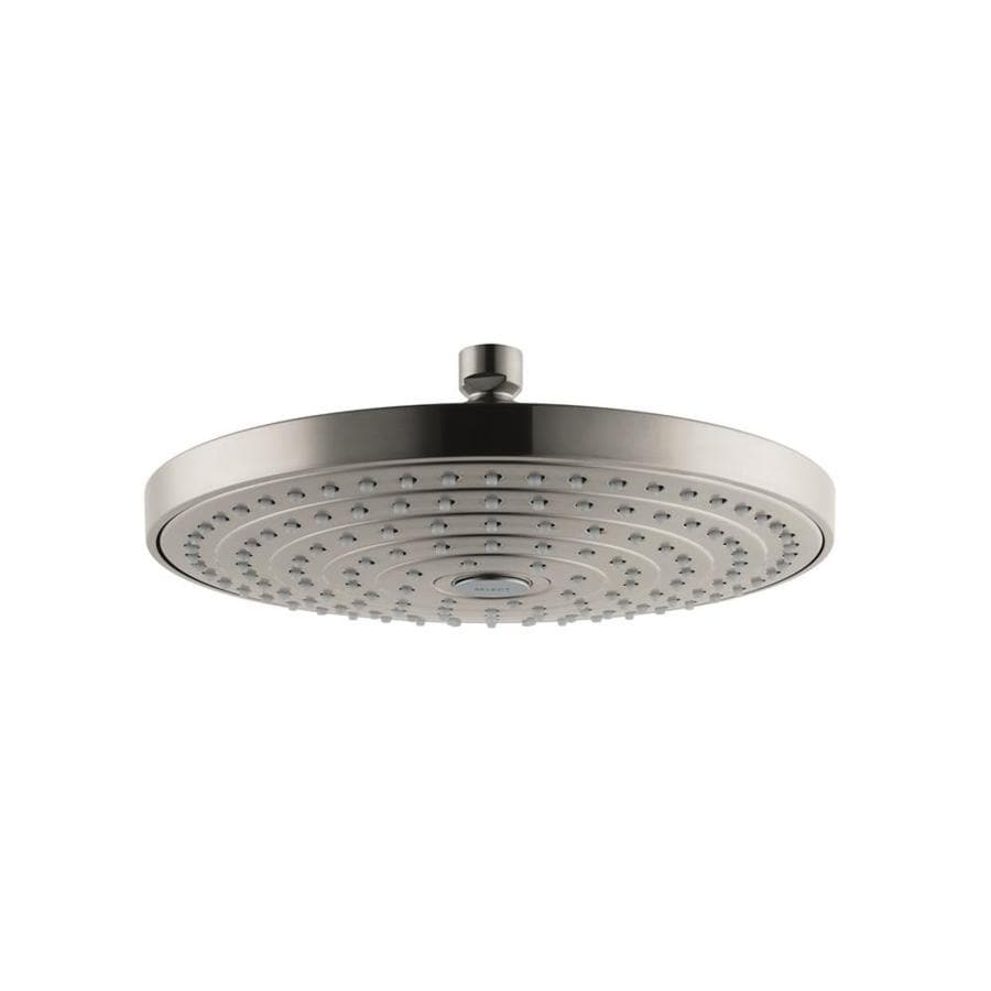 Hansgrohe Raindance Brushed Nickel 2-Spray Shower Head