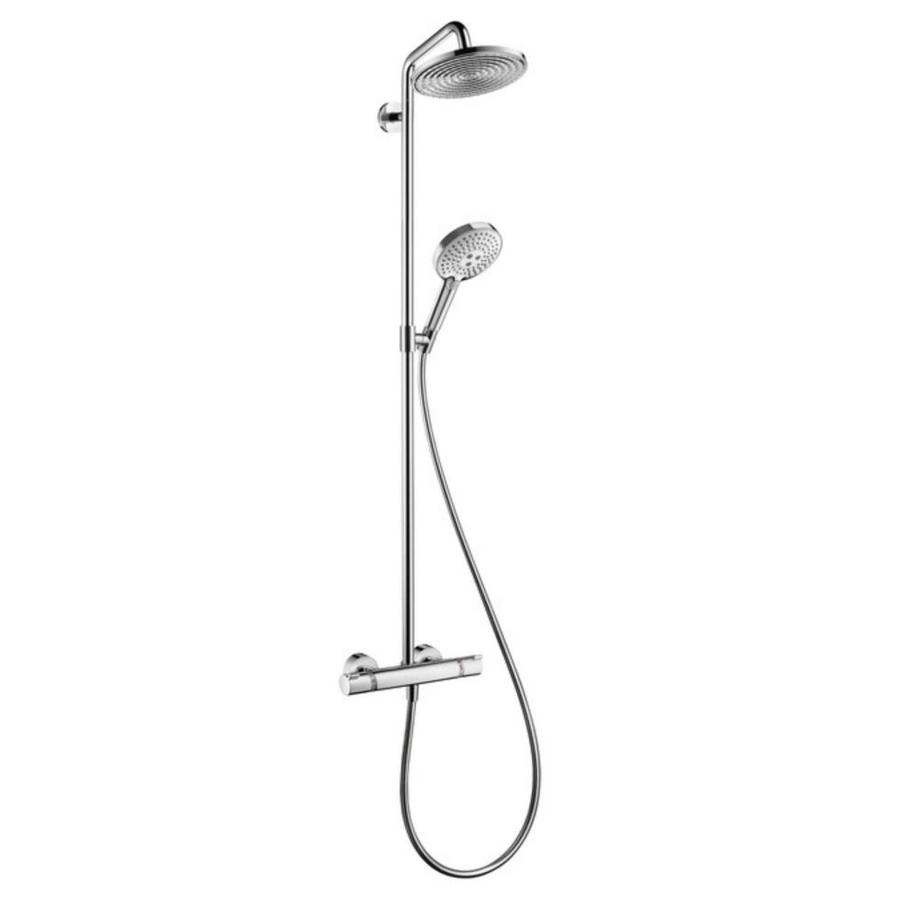 Shop Hansgrohe Raindance Chrome 1-Spray Rain and Handheld Shower ...