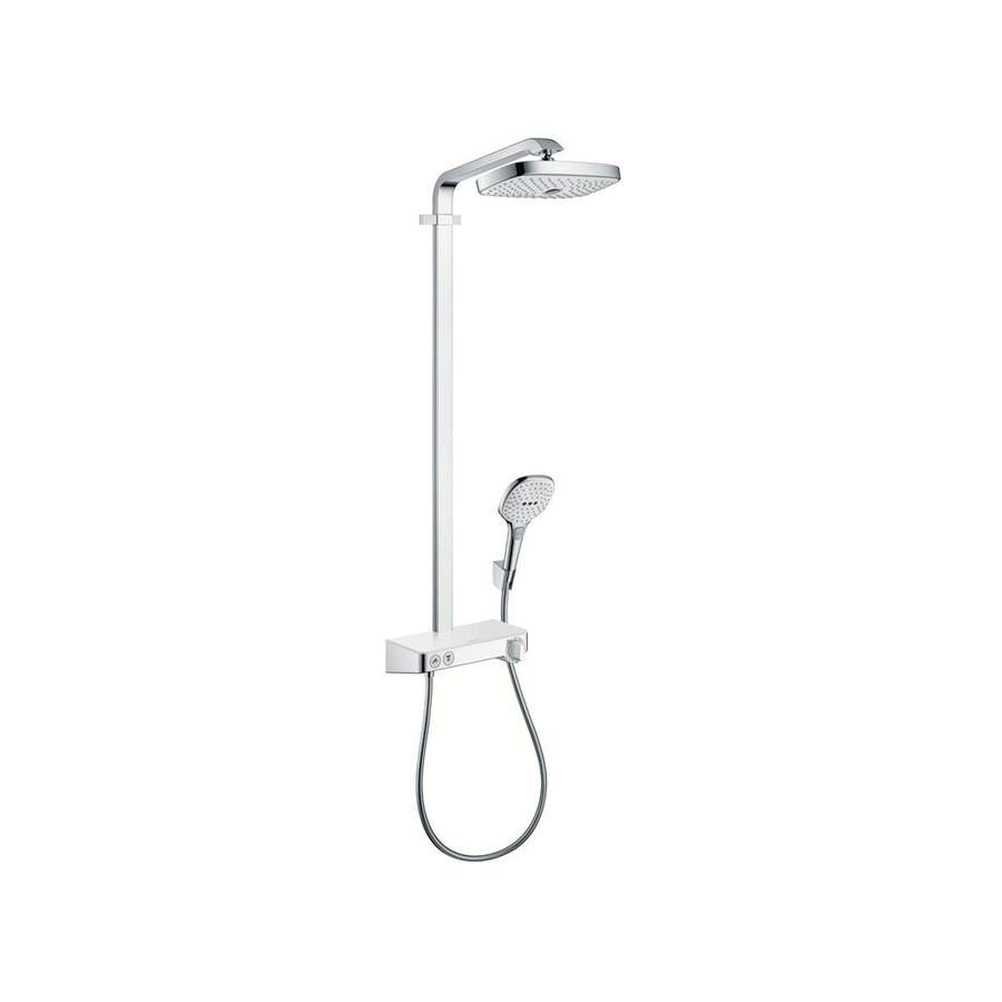 Hansgrohe Starck Chrome 2-Handle Wall Mount Bathtub Faucet