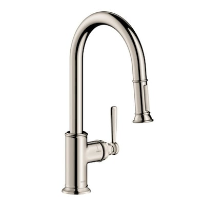 Hansgrohe Montreux Polished Nickel 1-handle Deck Mount Pull ...