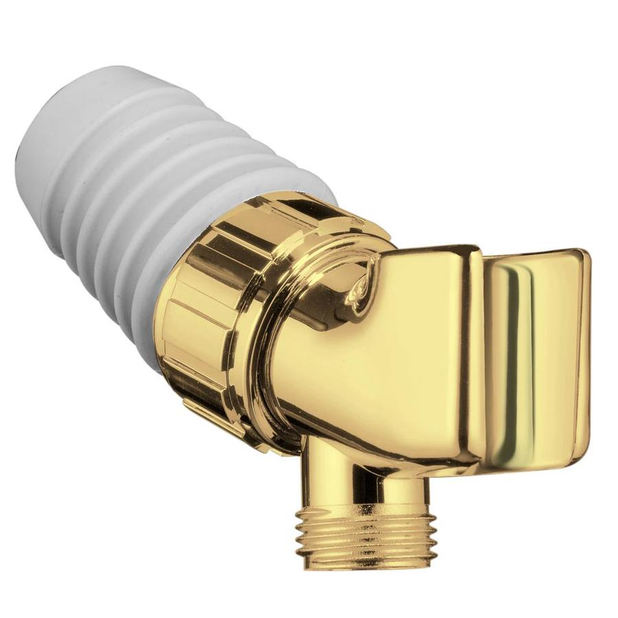 Hansgrohe Polished Brass Shower Arm Mount