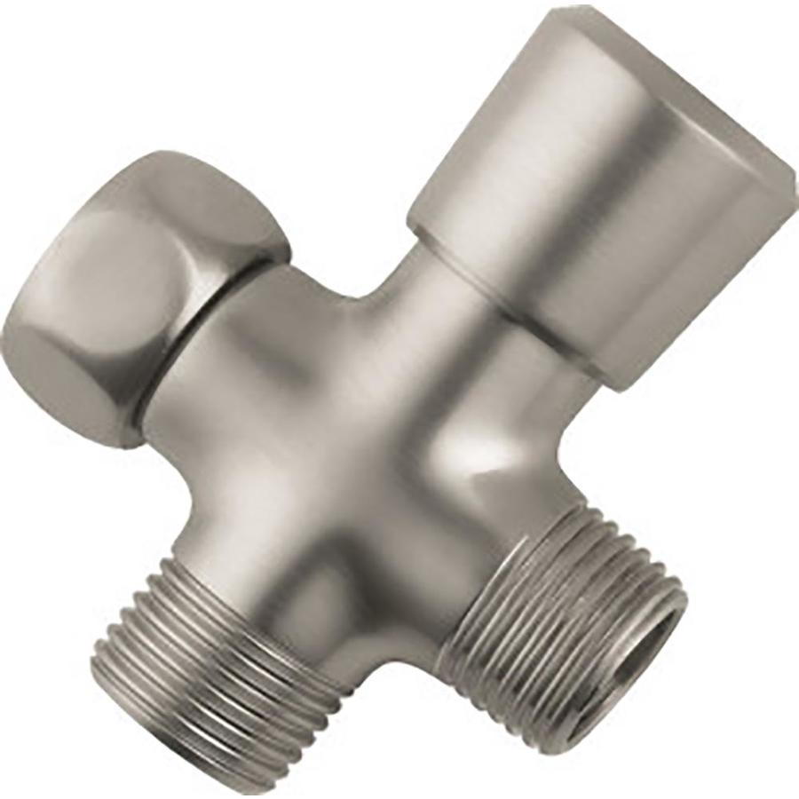 Hansgrohe Brushed Nickel Diverter