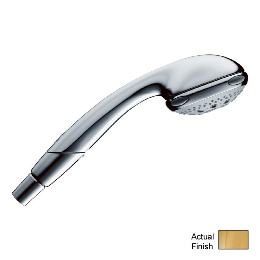 Hansgrohe Polished Brass Showerpower Aktiva Handheld Shower Massager