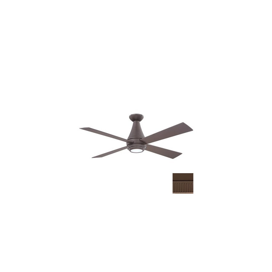 Kendal Lighting 50-in Novo Oil-Rubbed Bronze Ceiling Fan with Light Kit and Remote