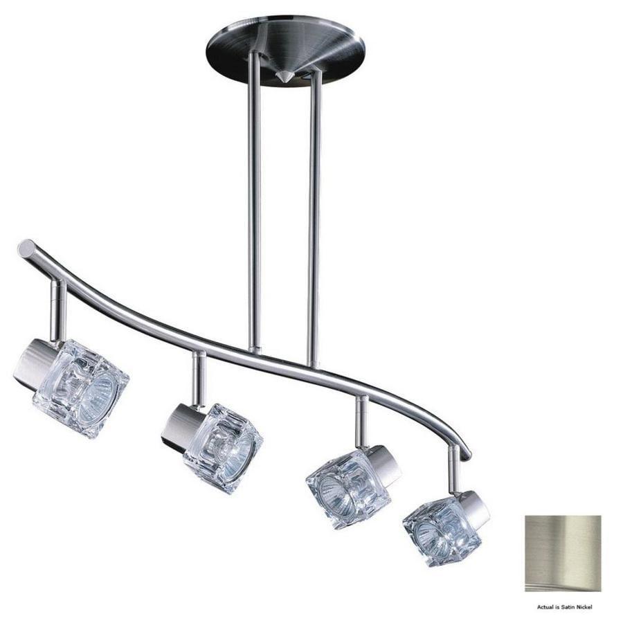 Pendant Light Kit Screwfix : Kendal lighting light in satin nickel glass