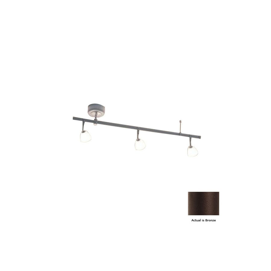 Bruck Lighting Systems Enzis 3 Light Standard Bronze Gl