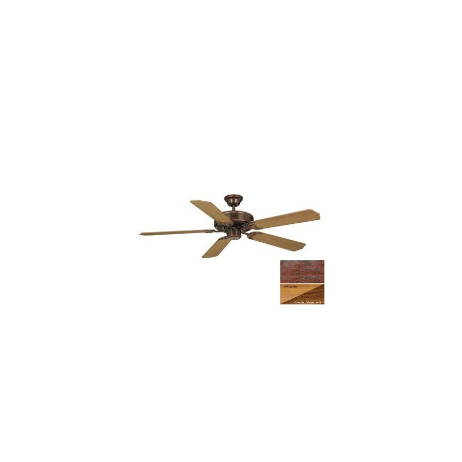 Cascadia Lighting 52-in Medallion Royal Bronze Ceiling Fan