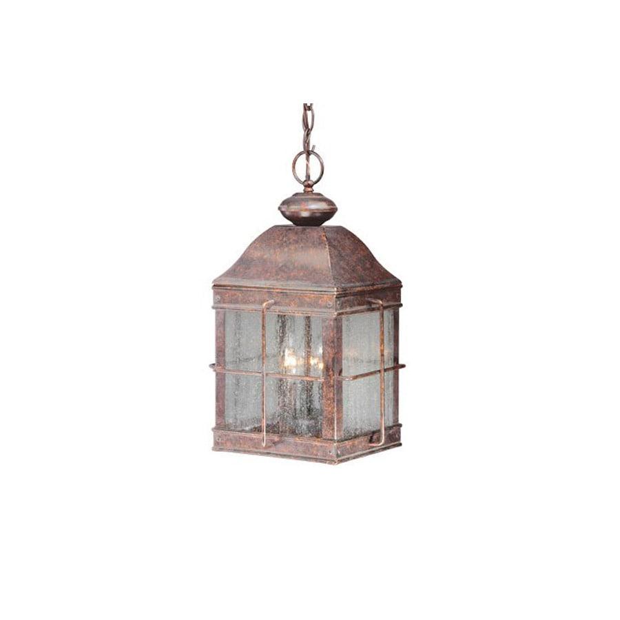 Cascadia Lighting Revere 17-in Royal Bronze Outdoor Pendant Light