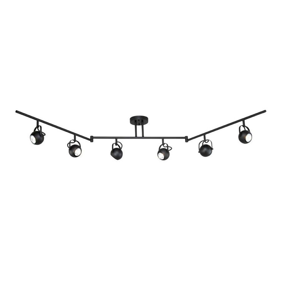 Shop cascadia lighting pixie 6 light 72 in noble bronze flexible cascadia lighting pixie 6 light 72 in noble bronze flexible track light with glass aloadofball Image collections