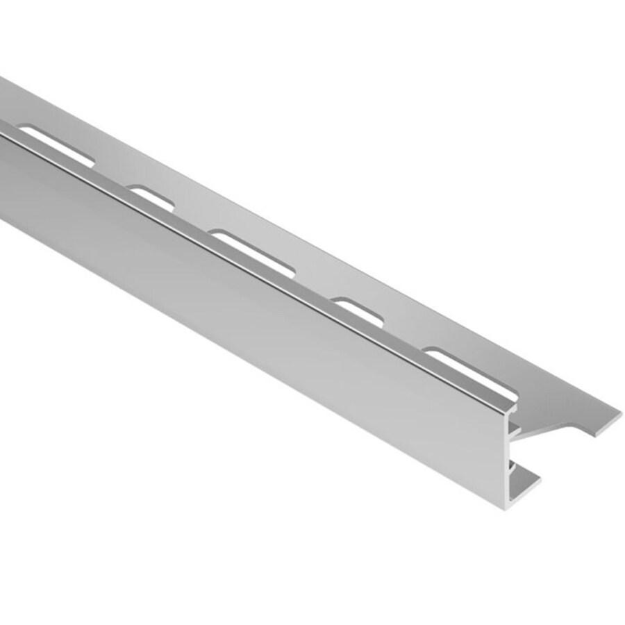 Schluter Systems Schiene 0.688-in W x 98.5-in L Aluminum Tile Edge Trim