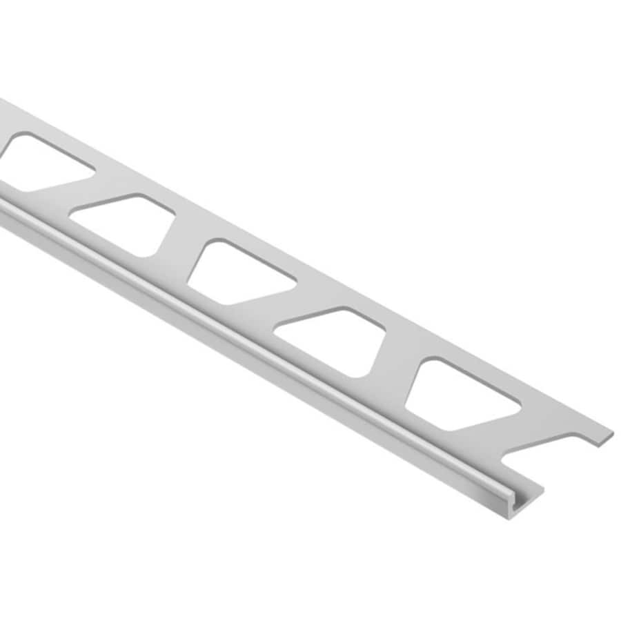 Schluter Systems Schiene 0.188-in W x 98.5-in L Aluminum Tile Edge Trim