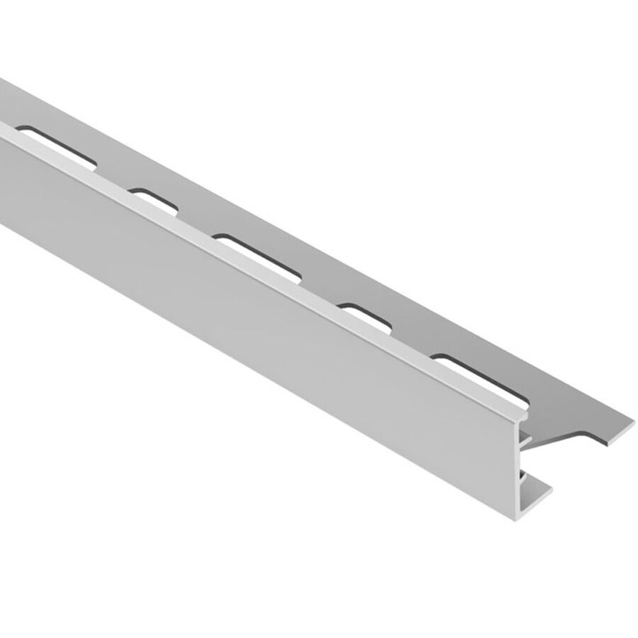 Schluter Systems 0.875-in W x 98.5-in L Aluminum Commercial/Residential Tile Edge Trim