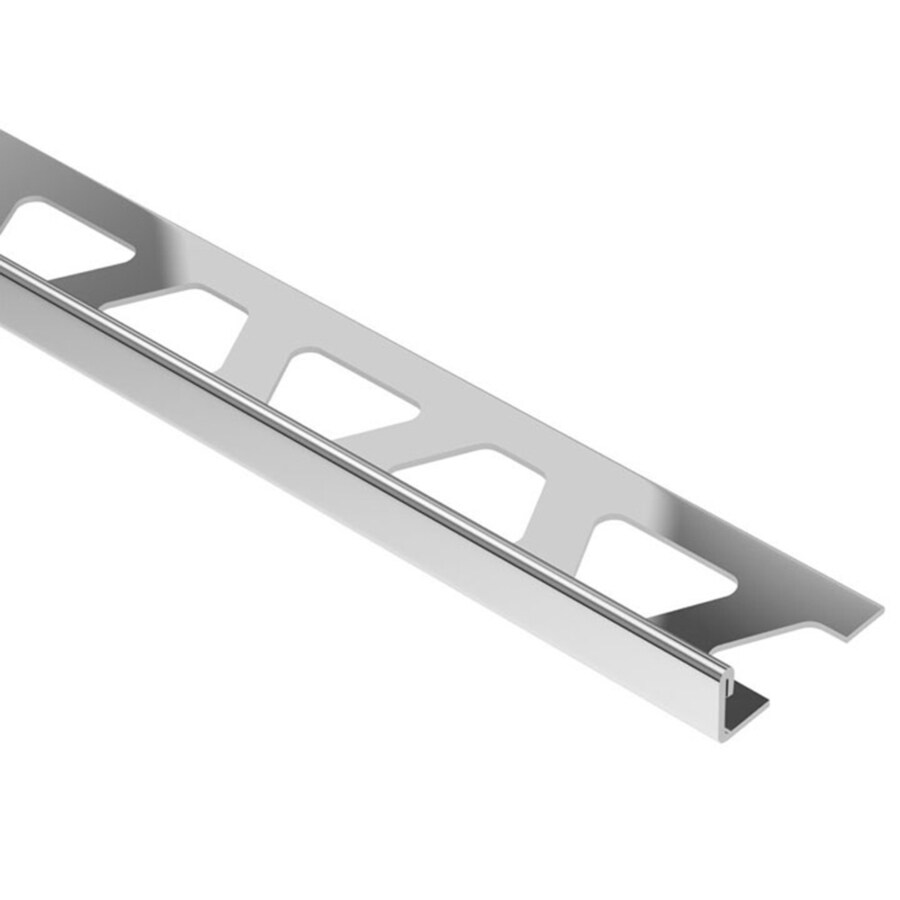 Schluter Systems 1.188-in W x 98.5-in L Steel Commercial/Residential Tile Edge Trim