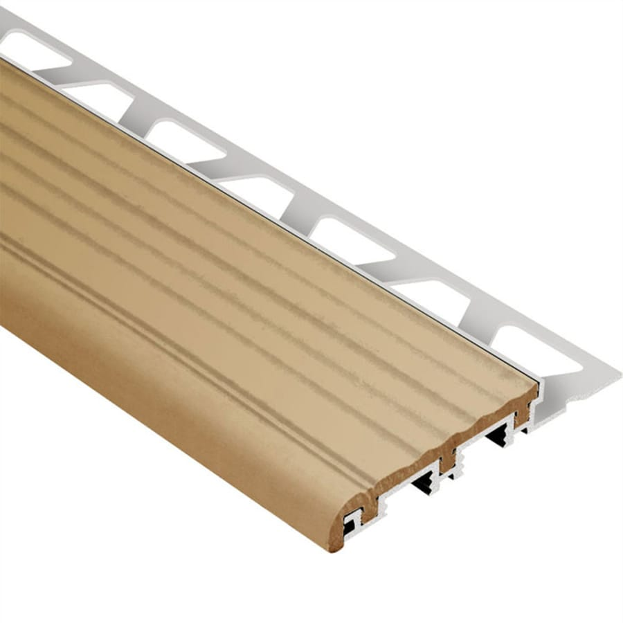 Schluter Systems Trep-B 0.5-in W x 98.5-in L Aluminum Commercial/Residential Tile Edge Trim