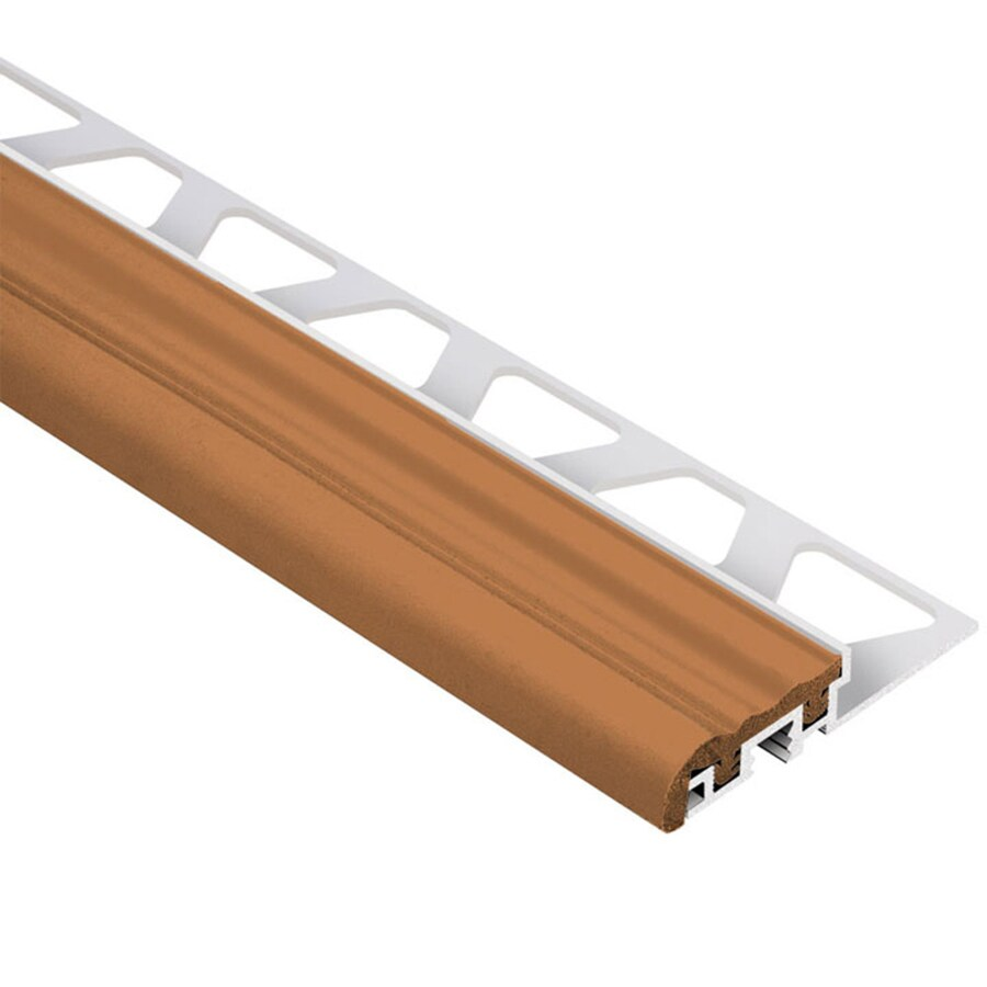 Schluter Systems Trep-S 0.375-in W x 98.5-in L Aluminum Tile Edge Trim