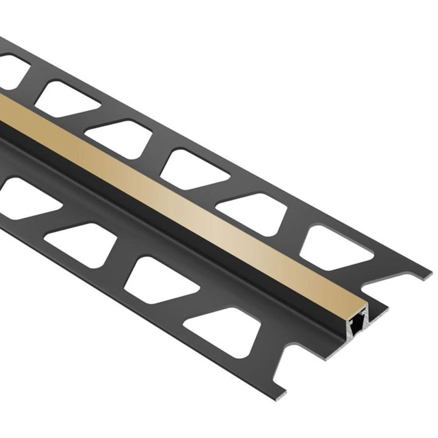 Schluter Systems Dilex-BWB 0.25-in W x 98.5-in L PVC Tile Edge Trim