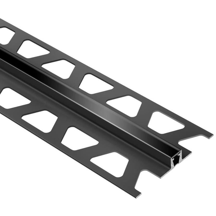 Schluter Systems 0.25-in W x 98.5-in L PVC Commercial/Residential Tile Edge Trim