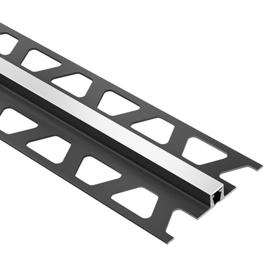 Schluter Systems Dilex-BWB 0.5-in W x 98.5-in L PVC Tile Edge Trim