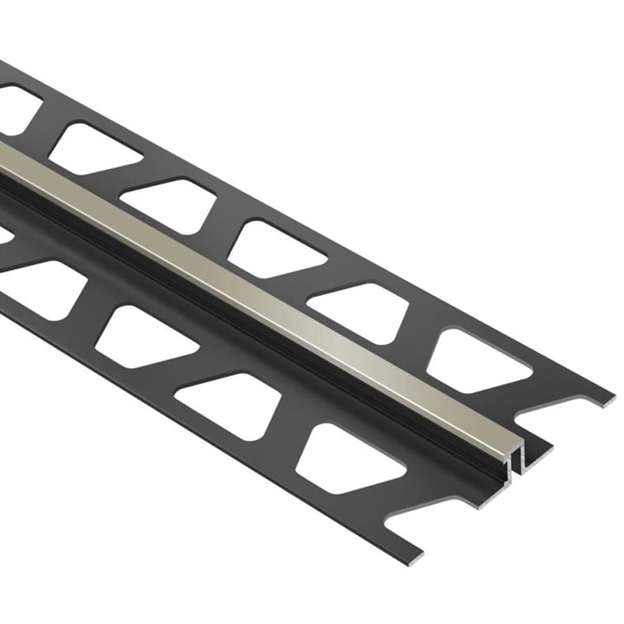 Schluter Systems Dilex-BWS 0.375-in W x 98.5-in L PVC Commercial/Residential Tile Edge Trim