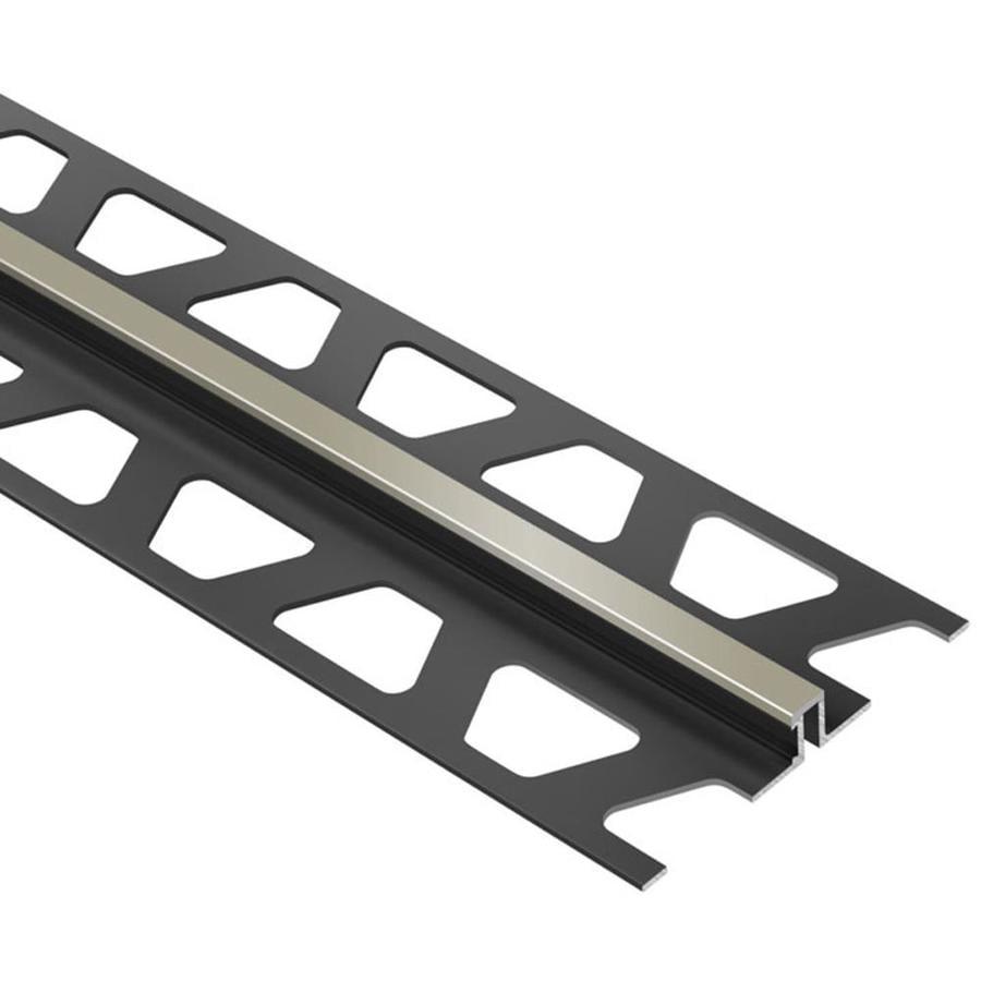 Schluter Systems Dilex-BWS 0.5-in W x 98.5-in L PVC Tile Edge Trim