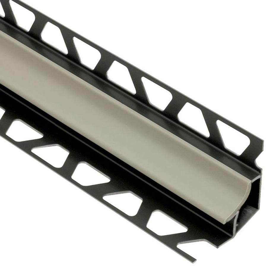 Schluter Systems Dilex-HK 0.344-in W x 98.5-in L PVC Commercial/Residential Tile Edge Trim