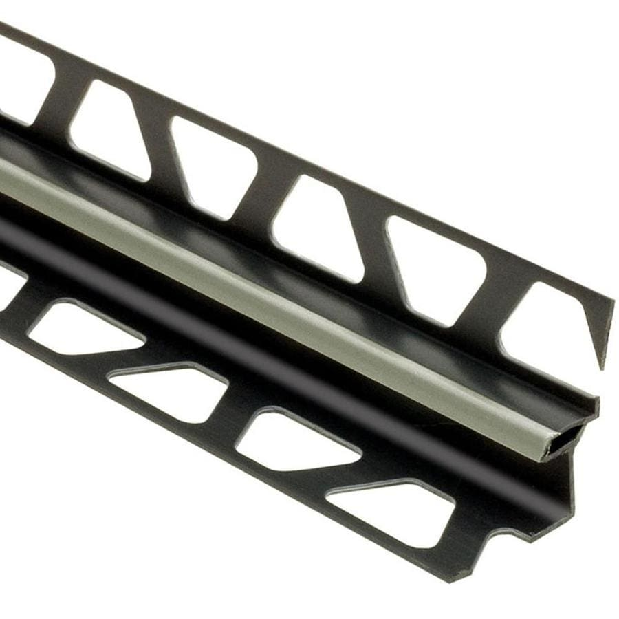Schluter Systems 0.281-in W x 98.5-in L Pvc Commercial/Residential Tile Edge Trim