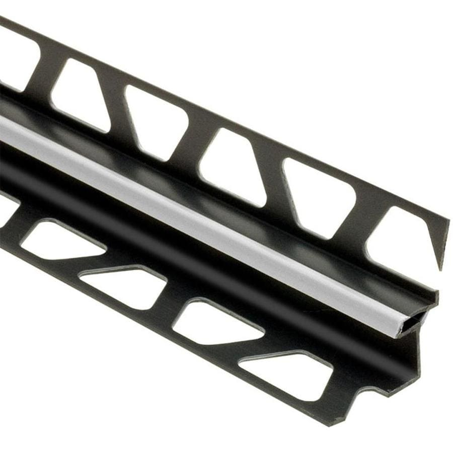 Schluter Systems 0.375-in W x 98.5-in L PVC Commercial/Residential Tile Edge Trim
