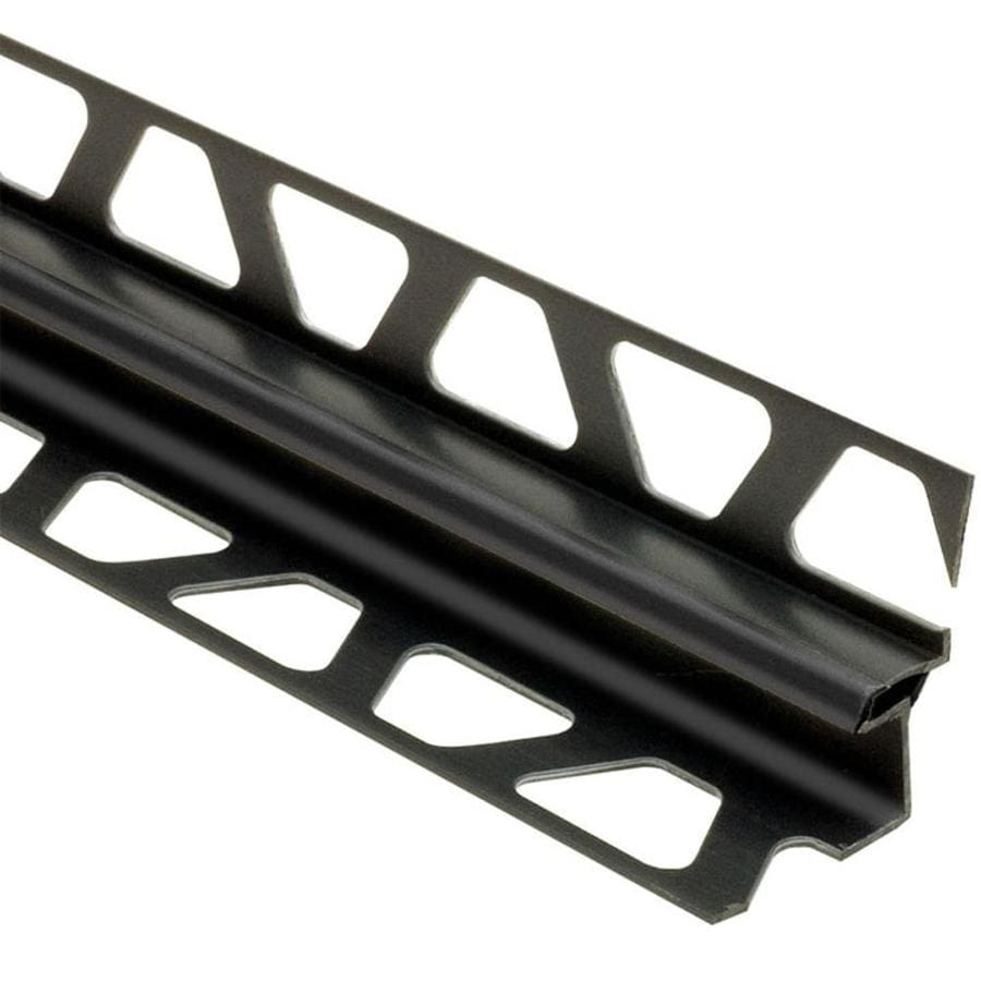 Schluter Systems Dilex-EKE 0.531-in W x 98.5-in L PVC Tile Edge Trim