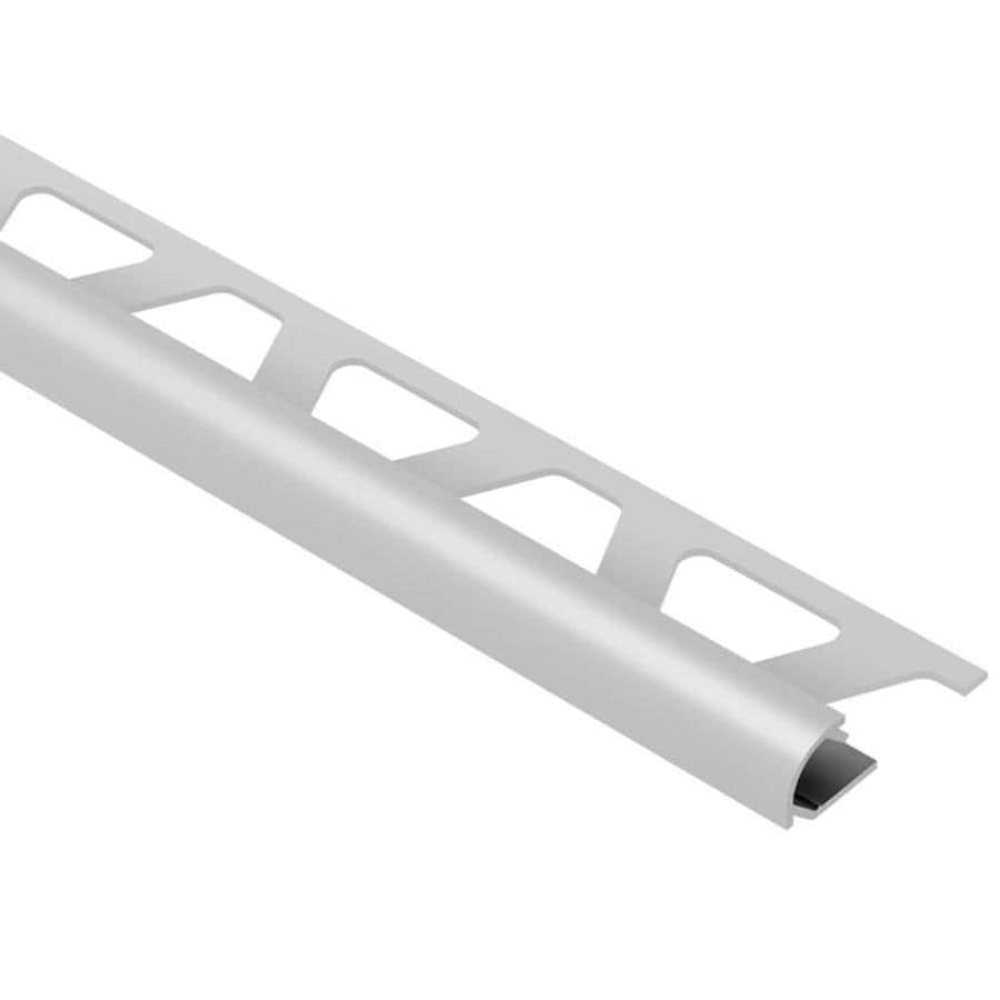 Schluter Systems Rondec 0.5-in W x 98.5-in L Aluminum Commercial/Residential Tile Edge Trim